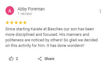 K1, Basche's Martial Arts Wayne IN
